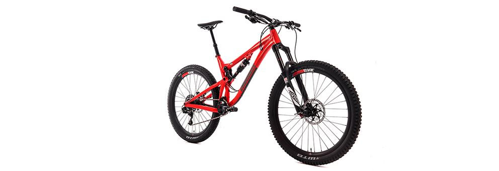 full suspension mountain bike - the DMR SLED