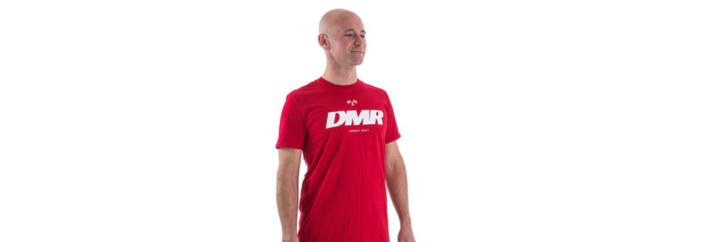 Red Sunday Best T-Shirt from DMR Bikes