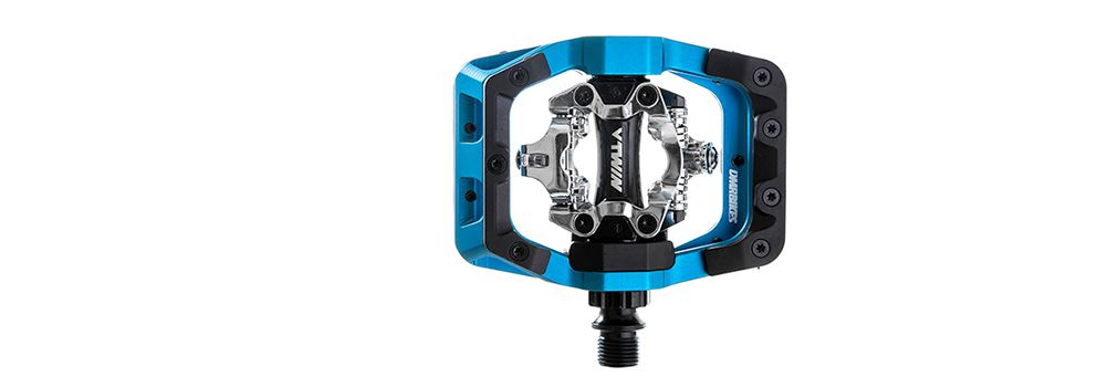 DMR V-Twin MTB Clipless Pedal - Blue from DMR Bikes