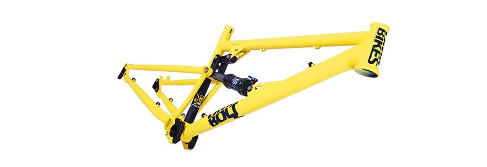 Yellow DMR Bolt frame