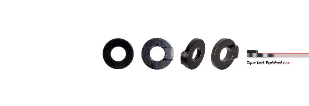 DMR taper lock washers for DMR 10mm horizontal dropouts