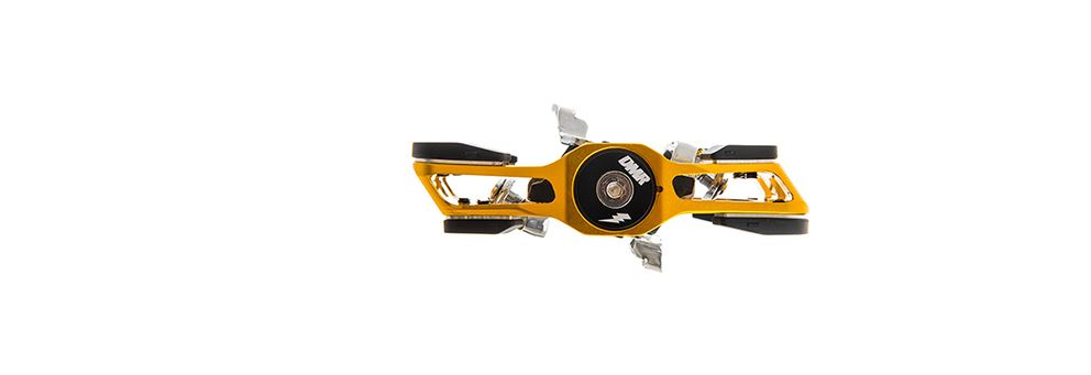 DMR V-Twin Clipless Pedal - Gold from DMR Bikes