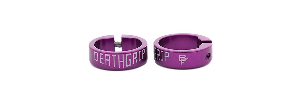 Deathgrip Collars - Purple