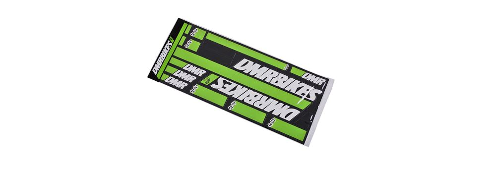 green DMR SLED sticker kits