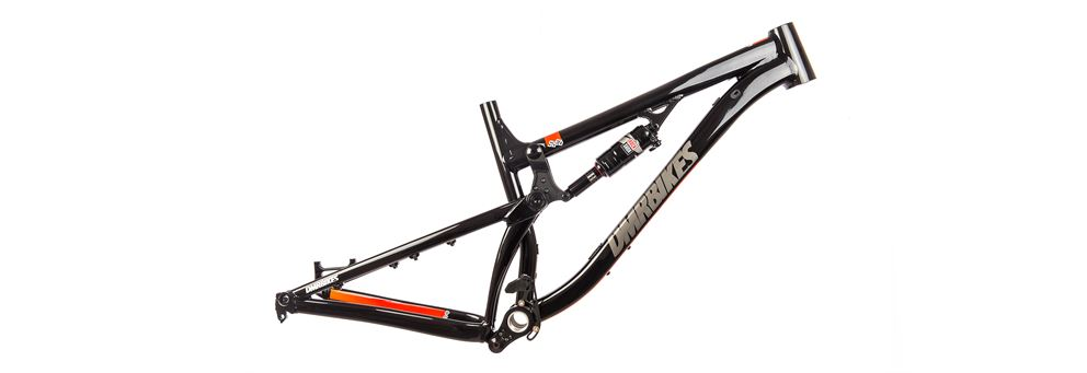 DMR Sled full suspension mountain bike frame