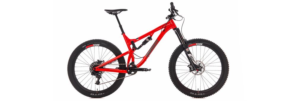 DMR Sled full suspension mountain bike