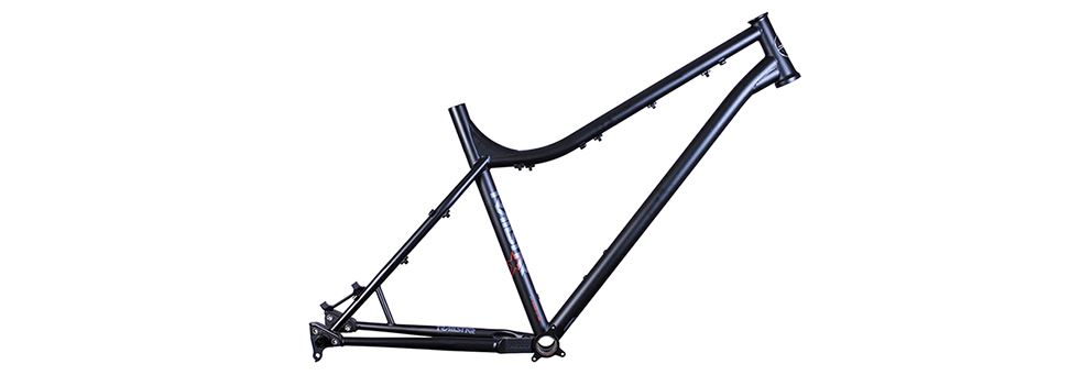 Black DMR Trailstar hardtail mtb frame