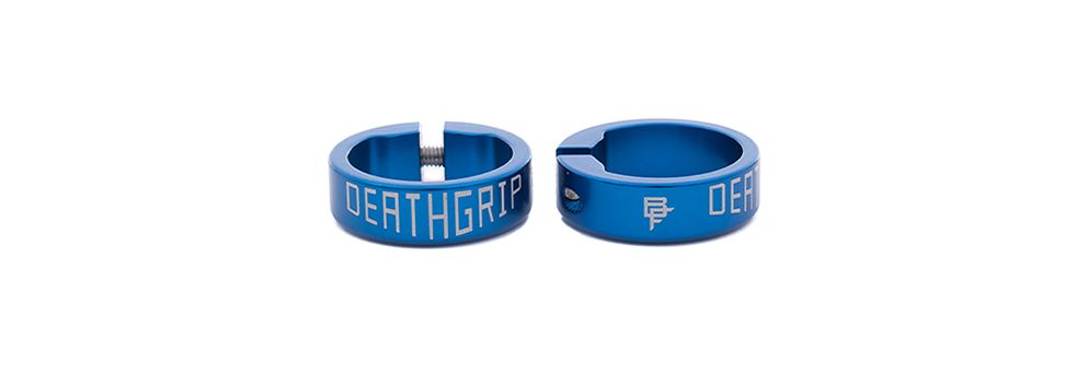 Deathgrip Collars - Blue
