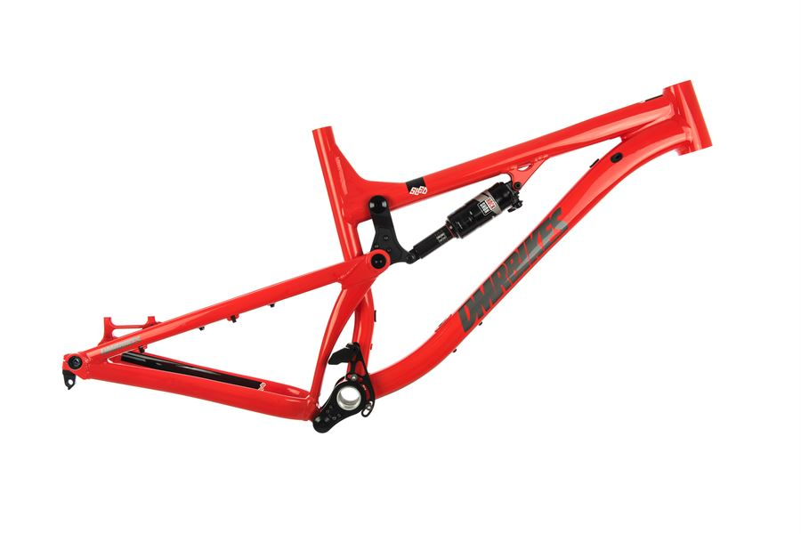 Red DMR SLED Frames