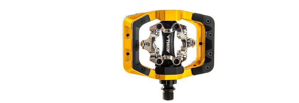 DMR V-Twin MTB Clipless Pedal - Gold from DMR Bikes