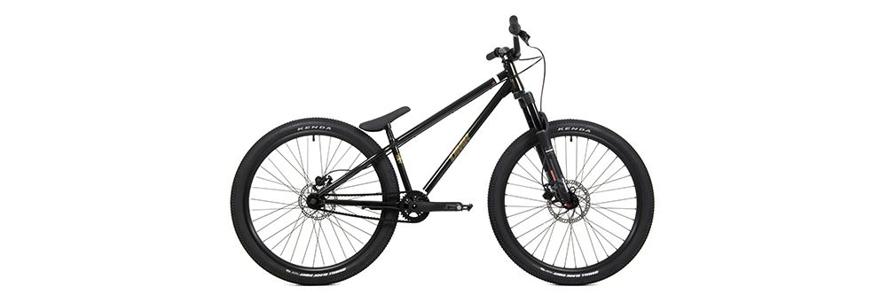 DMR SECT Pro - Complete Chromoloy Dirt Jumper Bike - Cosmic Black