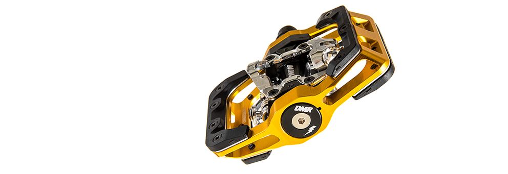 Gold DMR V-Twin Pedal from DMR Bikes